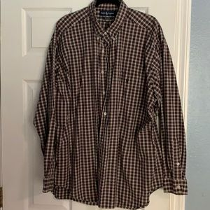 XL Ralph Lauren Mens Long Sleeve Button down Shirt